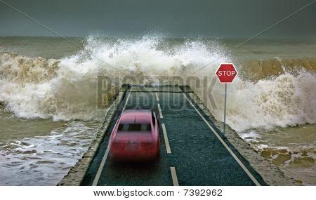 Car Vs Wave
