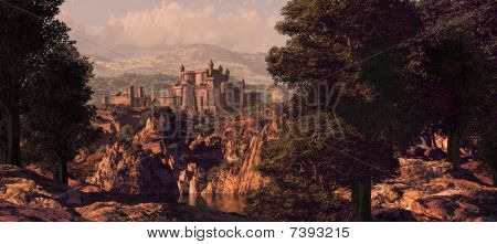 Medieval Castle Landscape