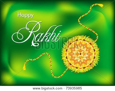 Abstract Colorful Raksha Bandhan Background