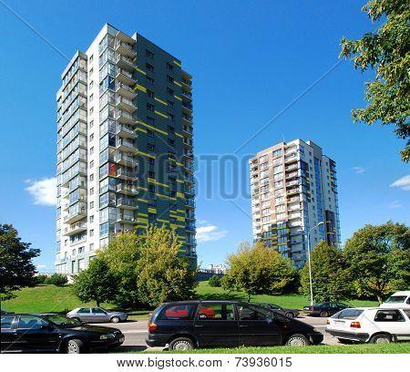 Vilnius City  Fabijoniskes District New House