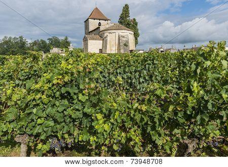 Church And Vineyard Of Francs And Tayac