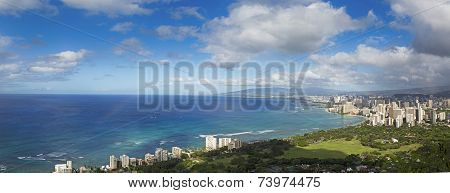 Hawaii panoramic view