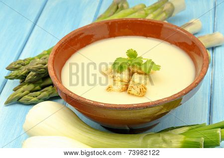 Cream Of White Asparagus