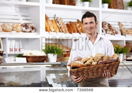 The Seller In Shop