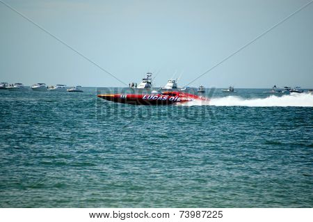 Super Boat Offshore Races (lucas Oil)