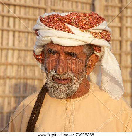 Elderly Omani Man