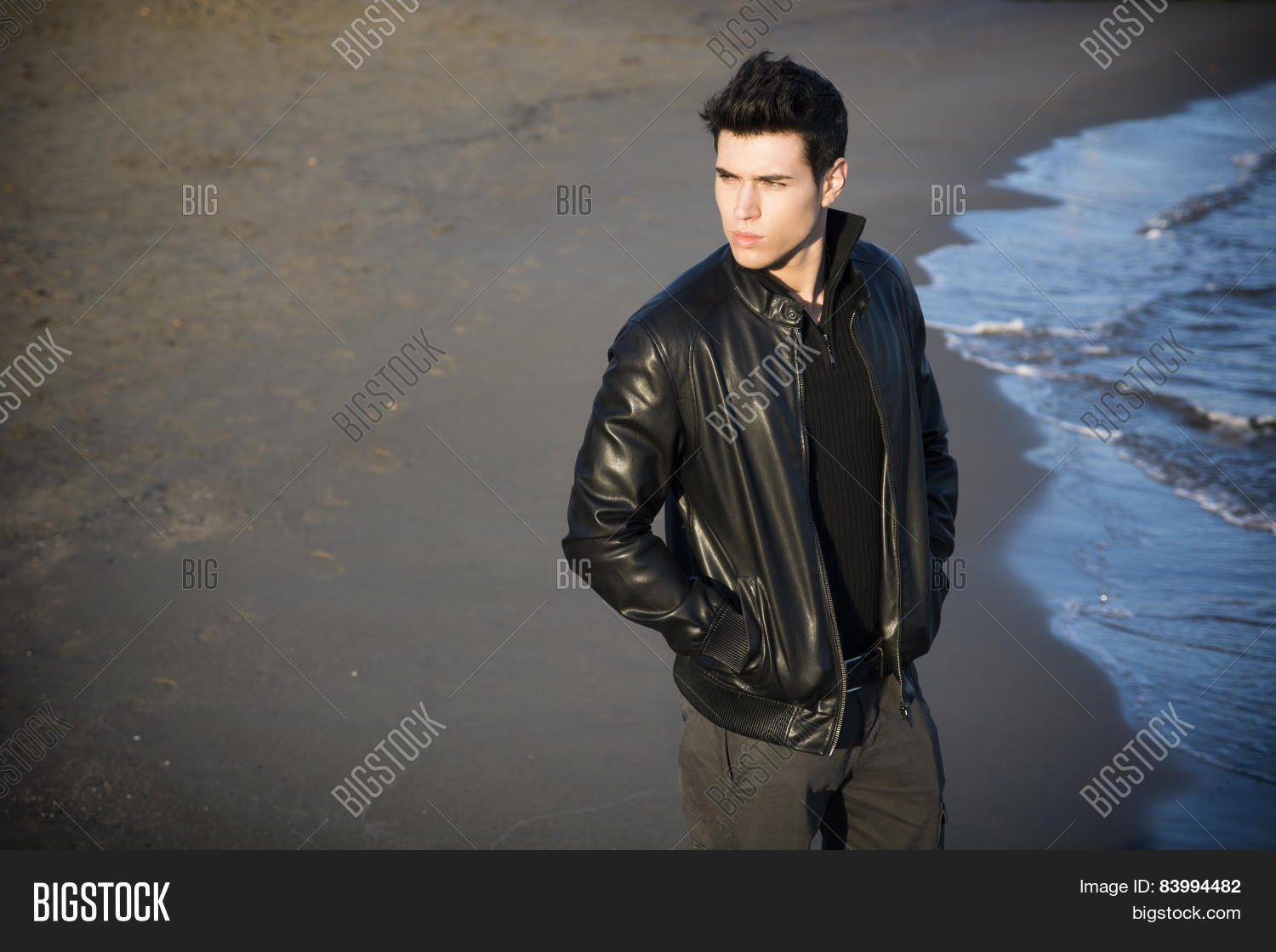 Attractive Young Man Image Photo Free Trial Bigstock