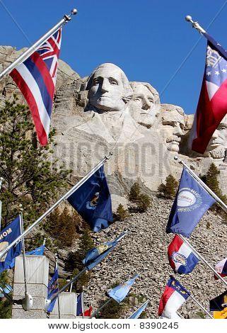 Mount Rushmore plaza