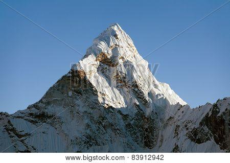Top Of Evening Mount Ama Dablam