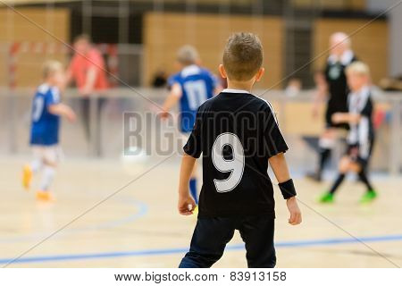 Kids Indoor Soccer Match