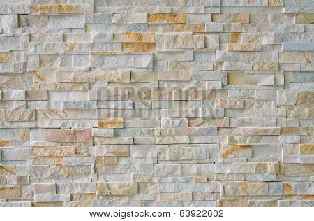 Marble Brick Wall Abstract For Background