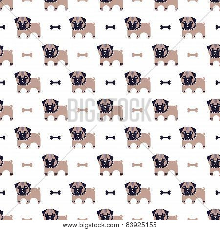pug and bone pattern