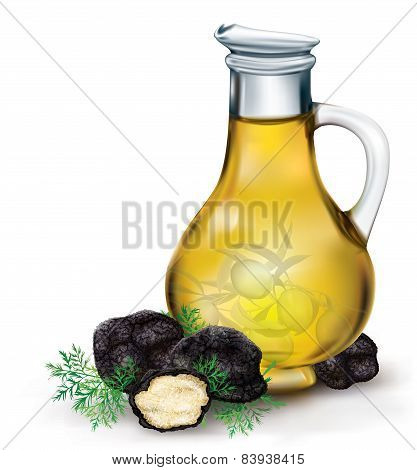 Olive Oil And Black Truffle