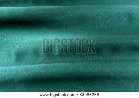 Green cloth.