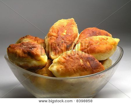 Pies With Fresh Cabbage