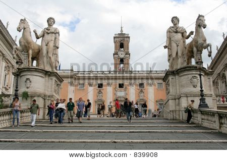 The Campidoglio, Rome