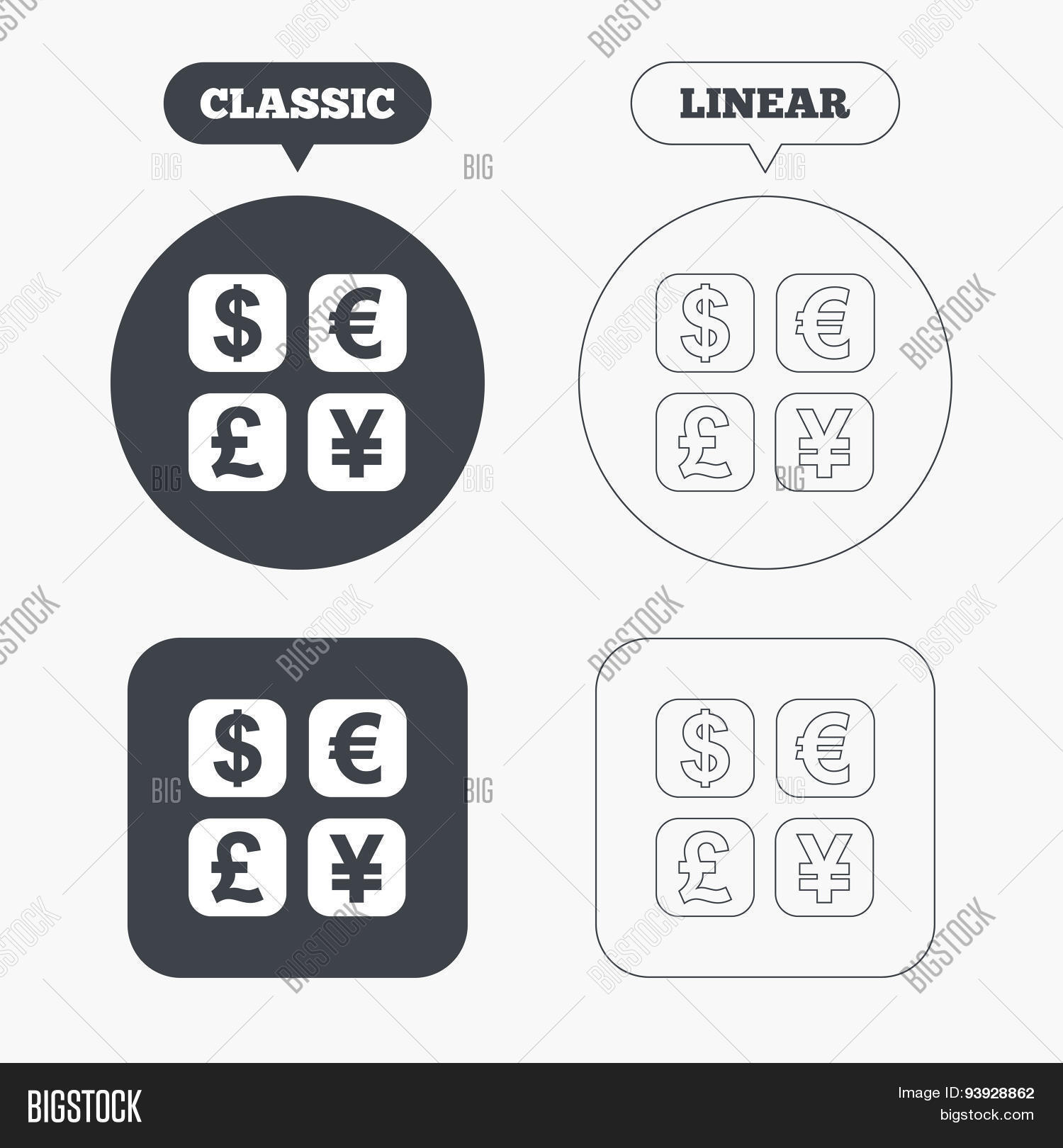 Currency Exchange Vector & Photo (Free Trial) | Bigstock