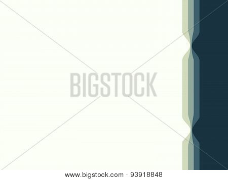 Business stylish background in pastel green color with a border