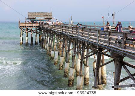 Cocoa Beach Fishing Pier