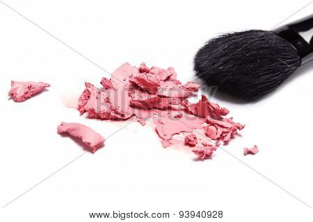 Cream Blush With Makeup Brush