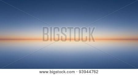 sunset horizon - abstract background