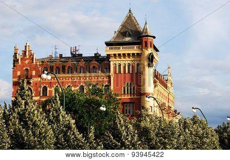Bellevue building, Prague.