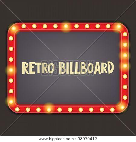 Retro Billboard
