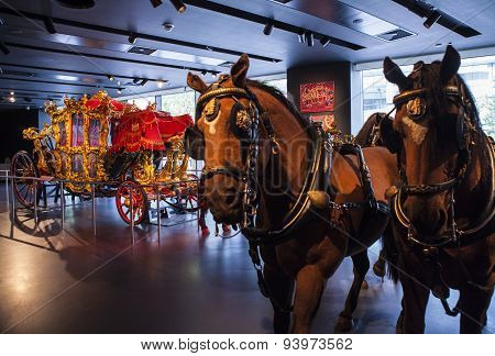 The Lord Mayors Coach In The Museum Of London