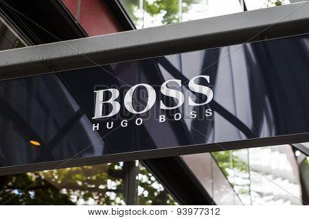 Hugo Boss Retail Store