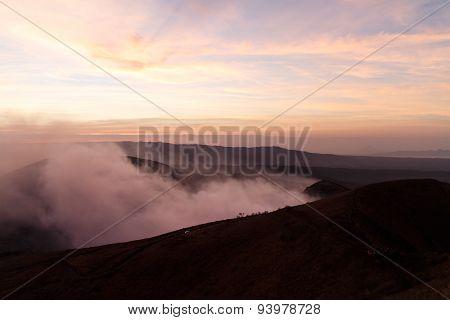 Volcan Masaya View At Sunshine