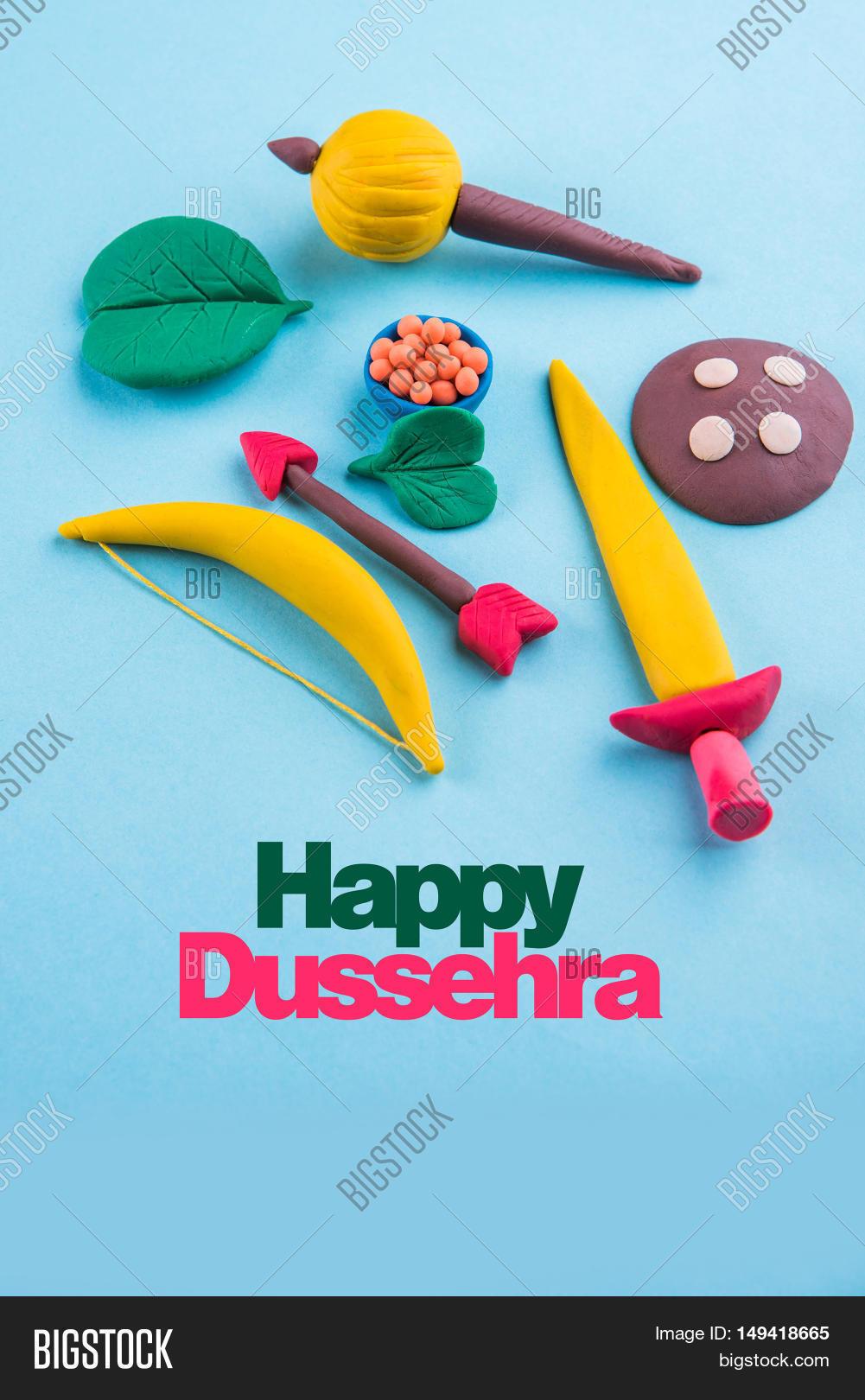 Happy Dussehra Image Photo Free Trial Bigstock