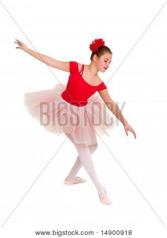 Graceful Young Ballerina