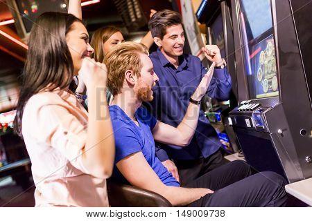 People In Casino