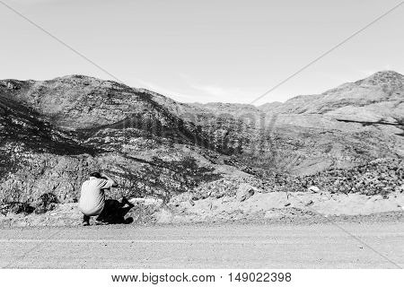 Lost Man In The Swartberg Pass