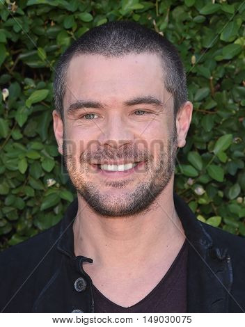 LOS ANGELES - SEP 25:  Charlie Weber arrives to The Rape Foundation Annual Brunch on September 25, 2016 in Beverly Hills, CA