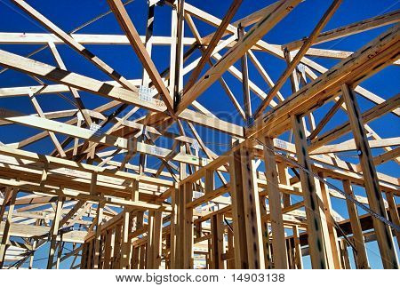Timber House Framing