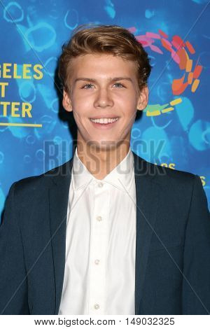 LOS ANGELES - SEP 24:  Aidan Alexander at the Los Angeles LGBT Center 47th Anniversary Gala Vanguard Awards at the Pacific Design Center on September 24, 2016 in West Hollywood, CA