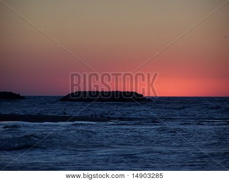 Sunset at Presque Isle