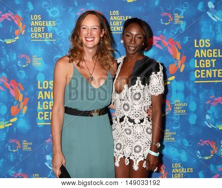 LOS ANGELES - SEP 24:  Jen Richards, Angelica Ross at the Los Angeles LGBT Center 47th Anniversary Gala Vanguard Awards at the Pacific Design Center on September 24, 2016 in West Hollywood, CA