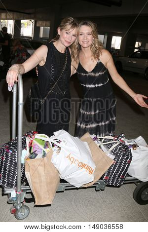 LOS ANGELES - SEP 24:  Meredith Monroe, Ali Hillis at the 5th Annual Red Carpet Safety Awareness Event at the Sony Picture Studios on September 24, 2016 in Culver City, CA