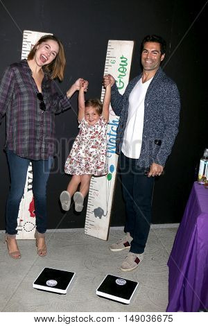 LOS ANGELES - SEP 24:  Kaitlin Riley, Riley Grace Vilasuso, Jordi Vilasuso at the 5th Annual Red Carpet Safety Awareness Event at the Sony Picture Studios on September 24, 2016 in Culver City, CA