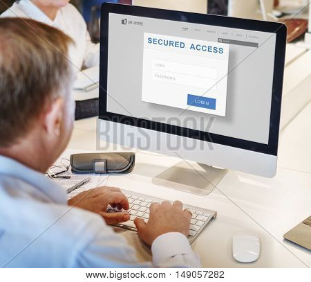 Secured Access Authorization Accessible Security Concept