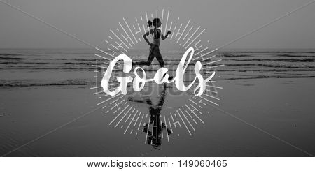 Goals Target Aspirations Purpose Aim Strategy Concept