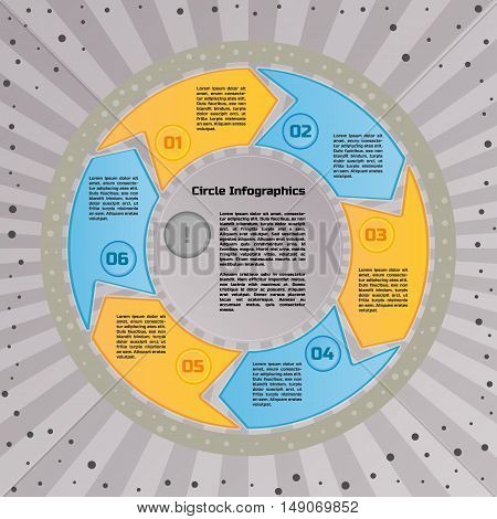 Circular Infographic Design Template