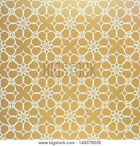 Abstract pattern illustration in arabian style. Vector illustration.