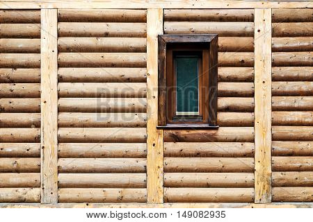 Wooden Panel And Window