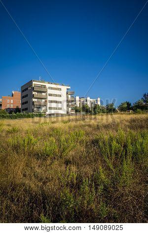 Residence Zone In Sant Cugat Del Valles In Barcelona