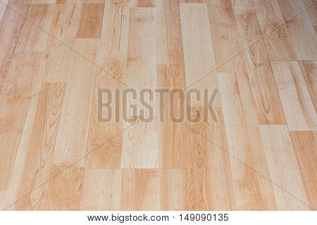Wood board Brown oak parquet pattern background.