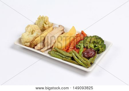 Chinese Vegetable festival  food as fried mixed vegetables is food for Chinese Vegetable festival of Chinese as