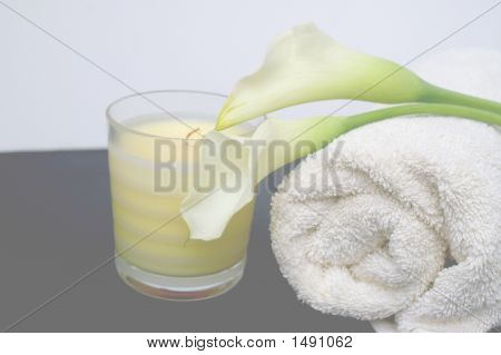 High Key Calla Lilly Spa
